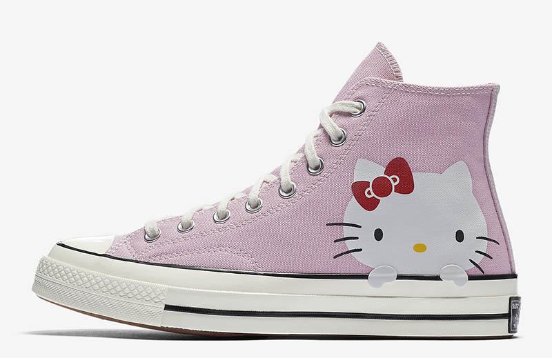 38d60da8dc51 Converse x Hello Kitty Chuck 70 Canvas High Top Sneaker  100