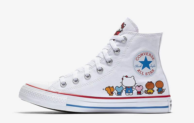 75297ae97027 Converse x Hello Kitty  Chuck Taylor All Star  Canvas High Top Sneaker  70