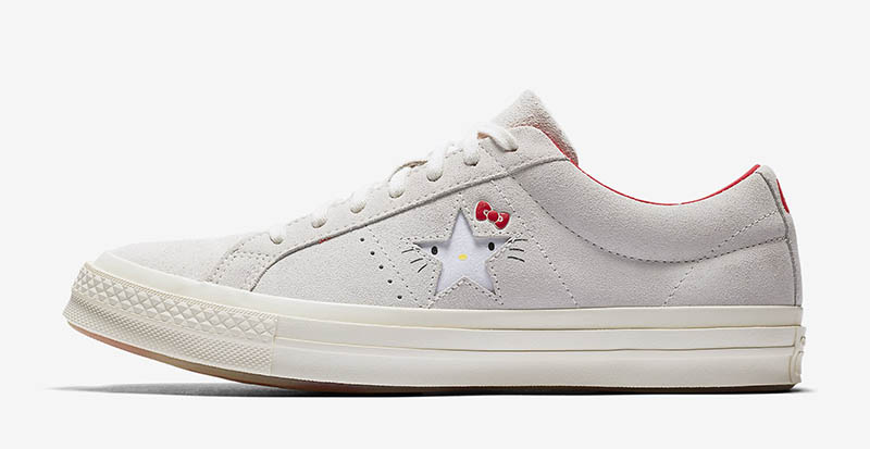 Converse x Hello Kitty One Star Suede Low Top Sneaker $100