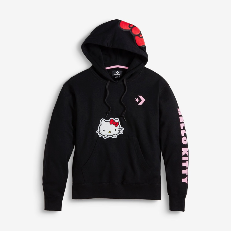 Converse x Hello Kitty Pullover Hoodie $75