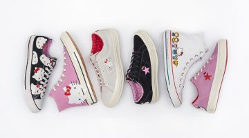 Shoe Gazing: See Converse & Hello Kitty's Must-Have Collab