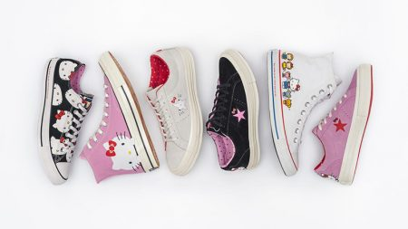 Converse x Hello Kitty sneaker collaboration