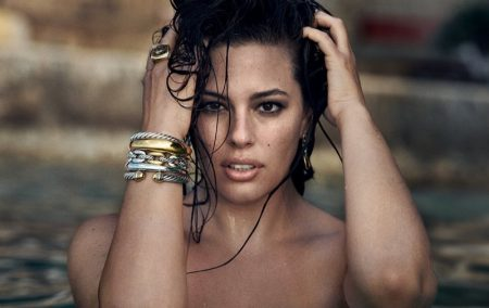 Ashley Graham stars in David Yurman fall-winter 2018 campaign