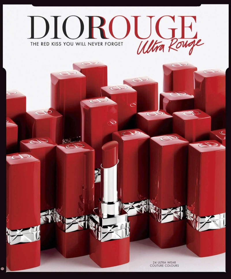 Dior Rouge Ultra Rouge Pigmented Hydra Lipstick $37.00