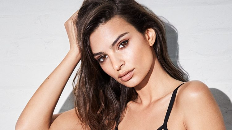 Emily Ratajkowski for DKNY Intimates fall-winter 2018 campaign