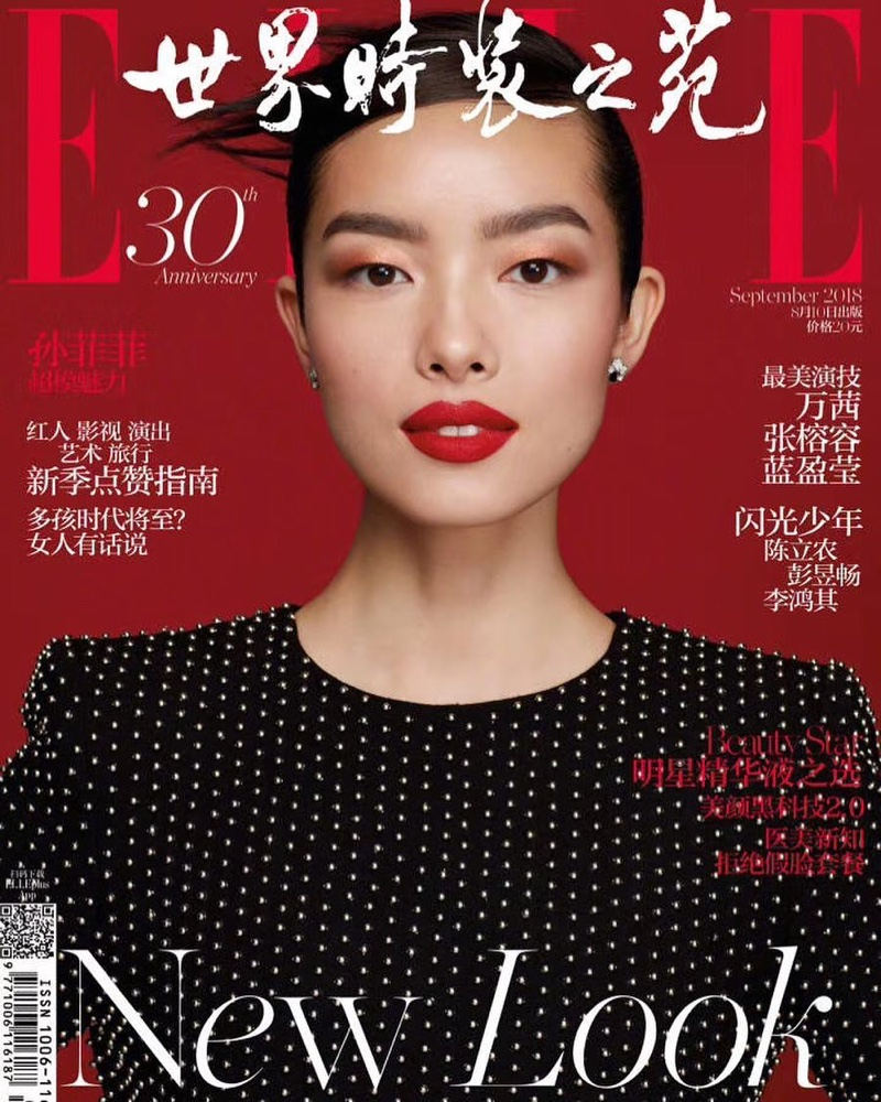 Fei Fei Sun Wears the Autumn Collections for ELLE China