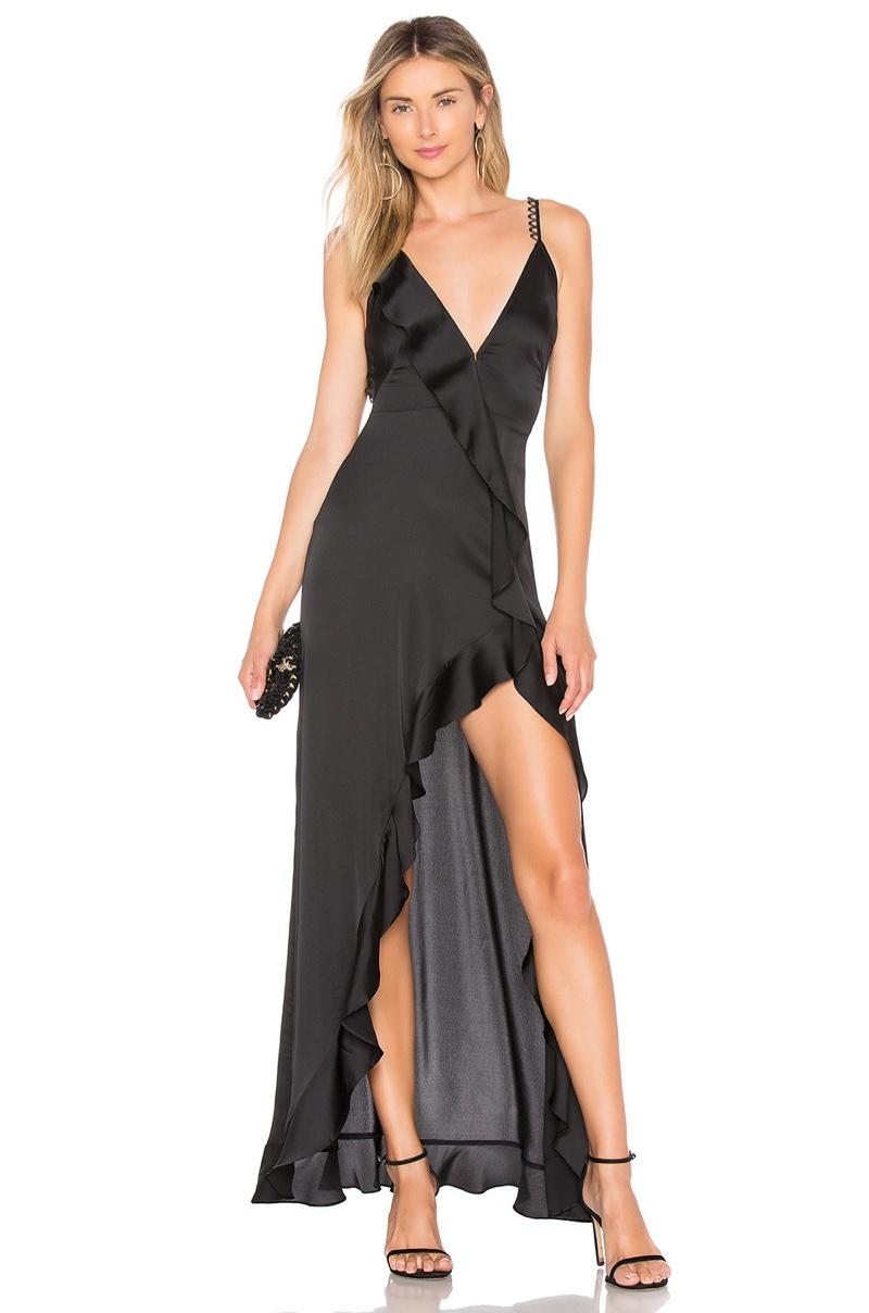 For Love & Lemons Isabella Ruffled Maxi Dress $273