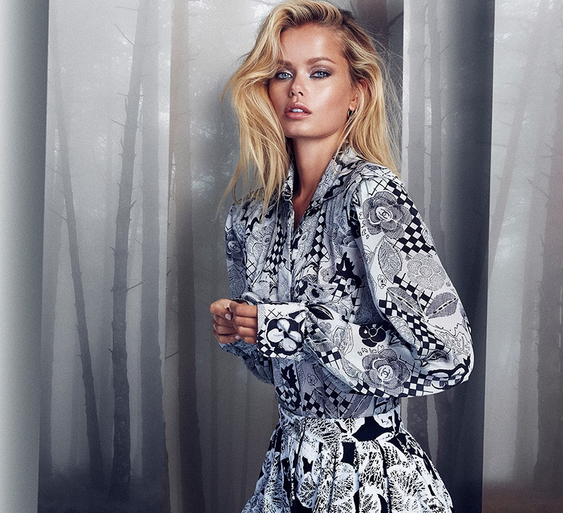 Frida Aasen Takes On Fall Trends for Woman Spain