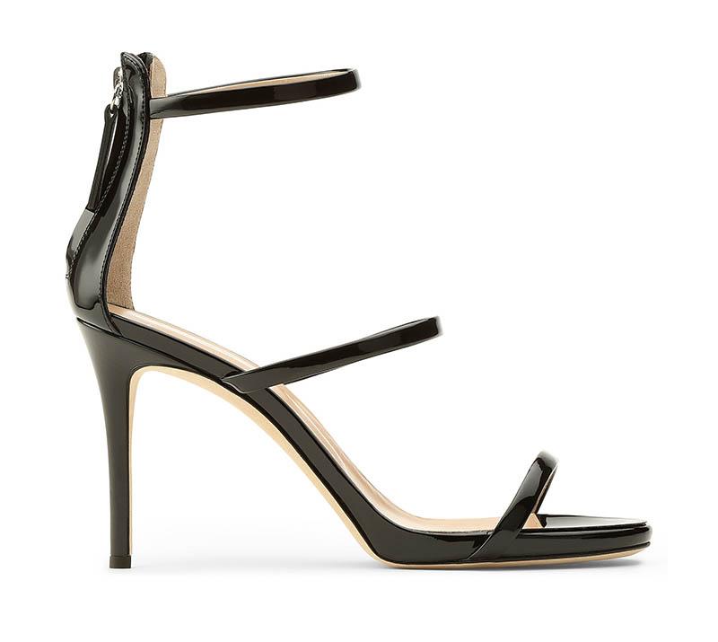 Giuseppe Zanotti Harmony 90 Sandal in Black $725