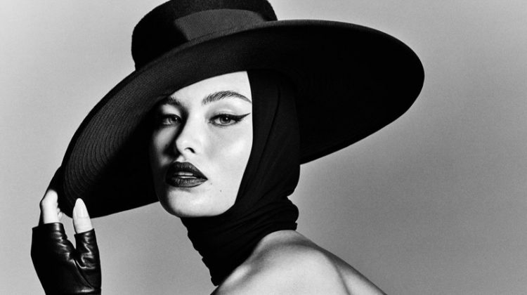 Grace Elizabeth Stuns in Black & White for Vogue Brazil