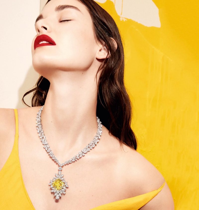 Graff Diamonds taps Ophelie Guillermand for Work of Art 2018 campaign