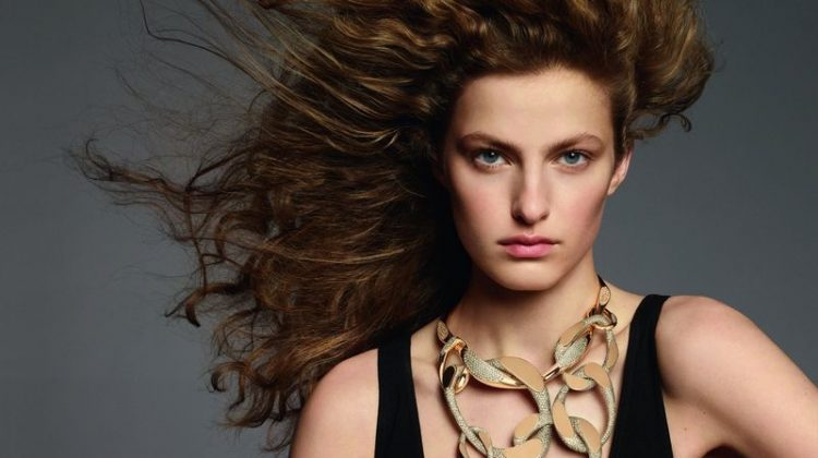Felice Noordhoff stars in Hermes Enchainements Libres jewelry campaign