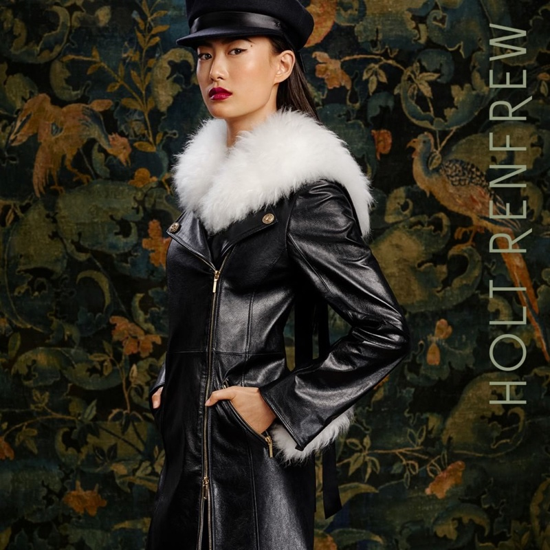 Shu Pei fronts Holt Renfrew fall-winter 2018 campaign