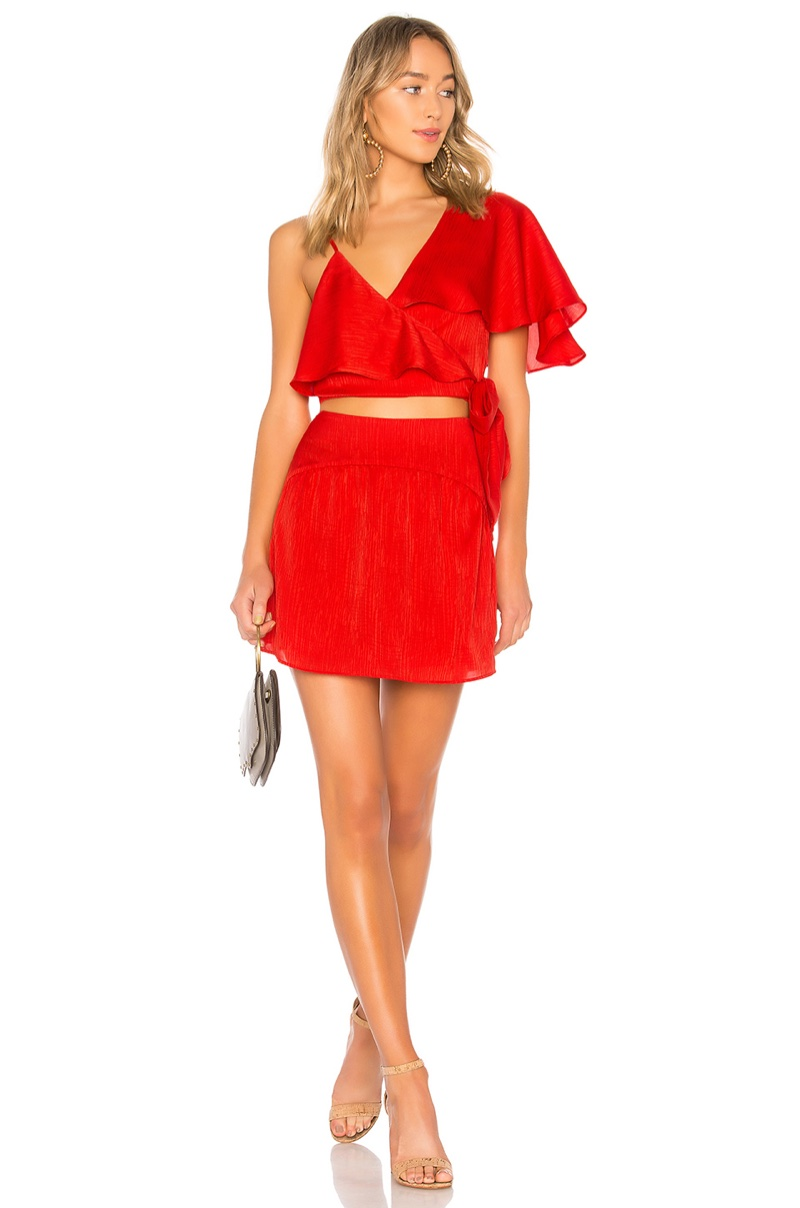 House of Harlow x REVOLVE Robby Top $128 and Nanda Skirt $59