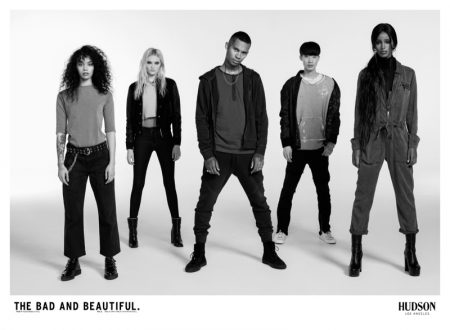 Amelia Gray Hamlin Returns for Hudson Jeans Fall 2018 Campaign