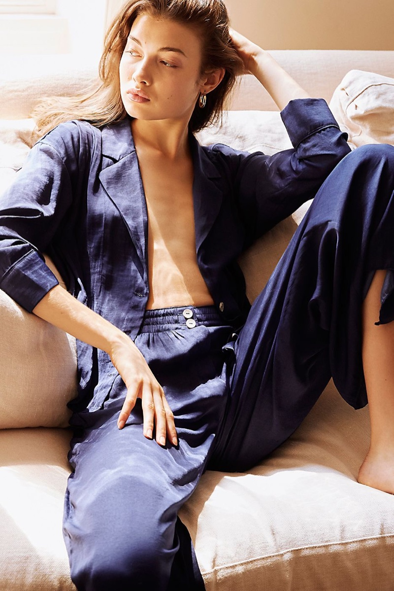 Intimately Free People Take Your Tie Off Lounge Top and Take Your Tie Off Lounge Pants