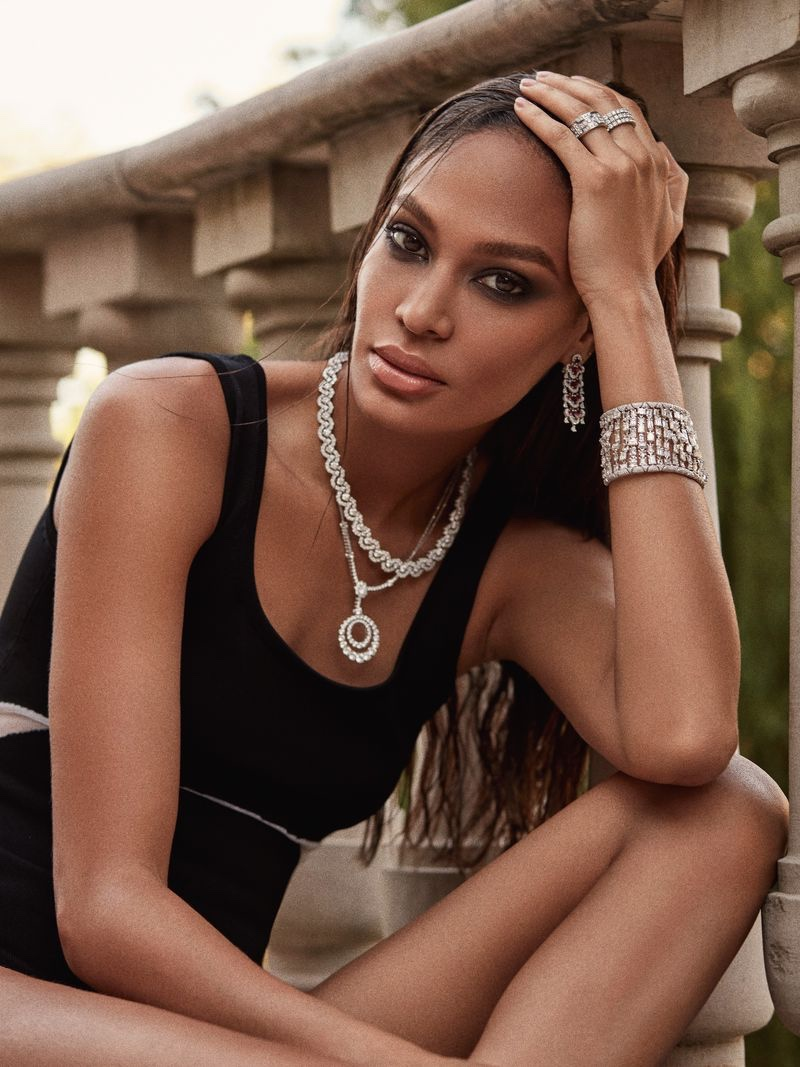 Joan Smalls for Harper's Bazaar Greece August 2018