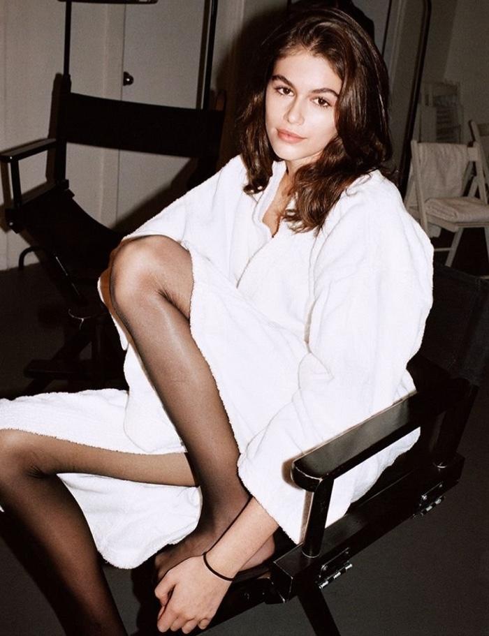 Kaia Gerber Gets Clad in Saint Laurent for LOVE Magazine