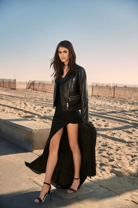 You Have To See the Kaia Gerber & Karl Lagerfeld Collaboration