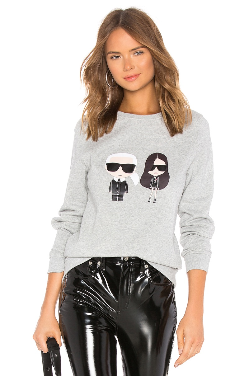 Karl x Kaia Ikonik Sweatshirt $195