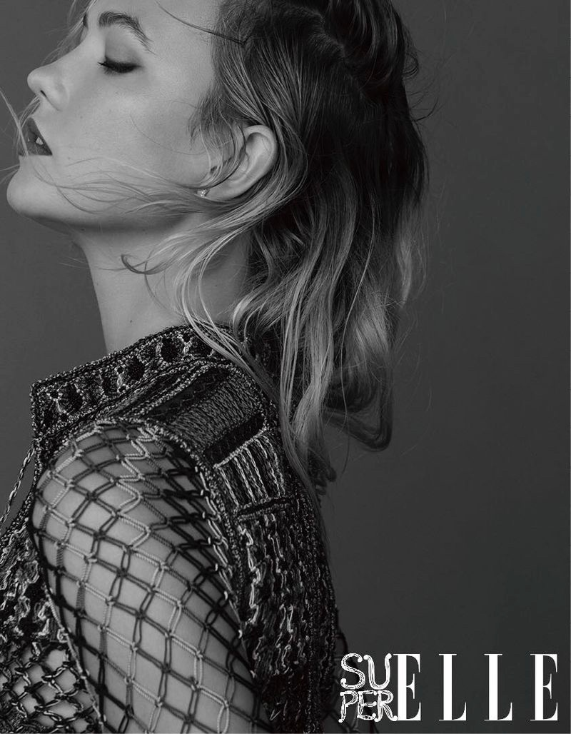 Karlie Kloss Wears Luxe Athleisure for SuperELLE China