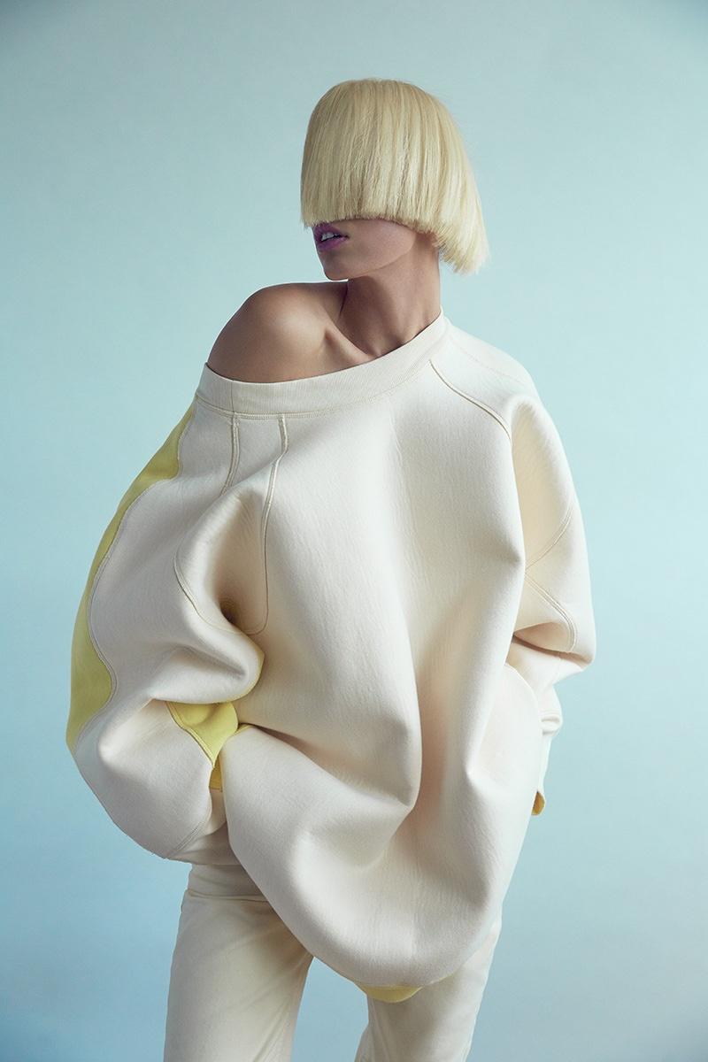 Karolina Kurkova Wears Fashion Forward Styles in Harper's Bazaar Turkey