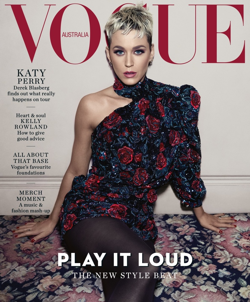 Katy Perry on Vogue Australia August 2018 Cover