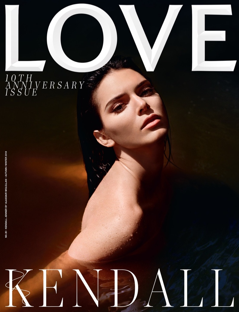 Kendall Jenner Transforms in Fall Looks for LOVE Magazine
