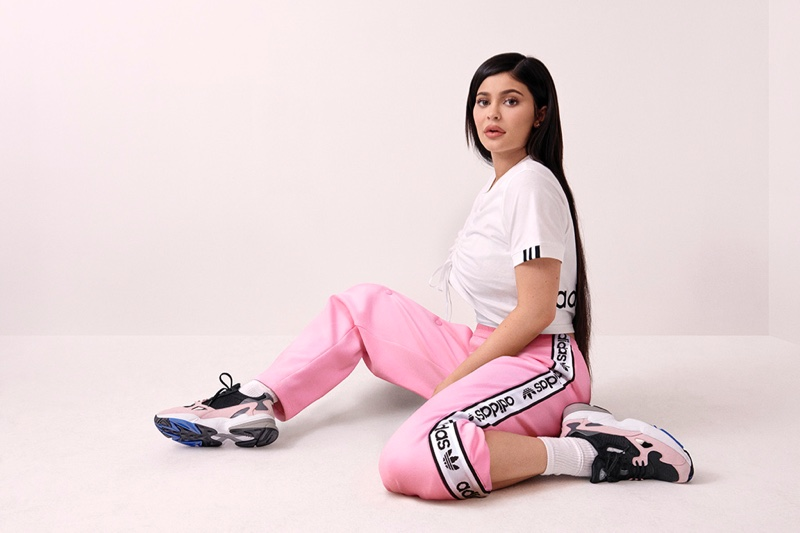 Kylie Jenner stars in adidas Falcon sneaker campaign