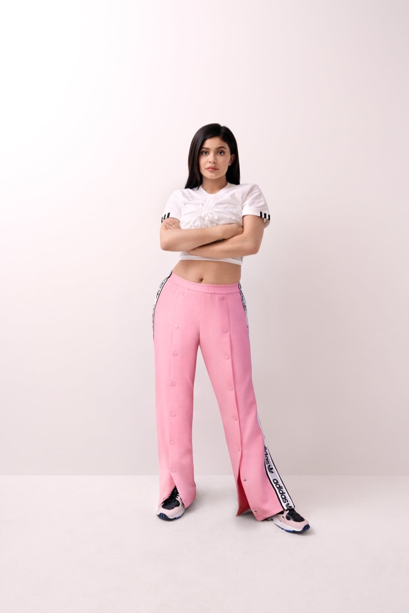 Influencer Kylie Jenner fronts adidas Falcon sneaker campaign