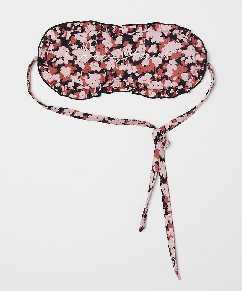 Love Stories x H&M Sleep Mask with Embroidery $14.99