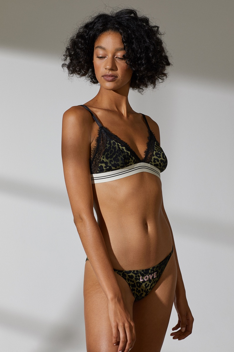 Love Stories x H&M Soft-Cup Microfiber Bra $19.99 and Bikini Briefs $12.99