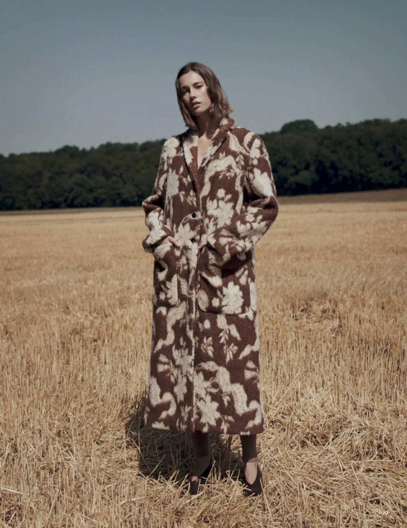 Mali Koopman Layers in Outdoor Styles for Vogue Mexico