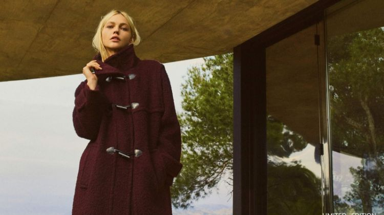 Massimo Dutti focuses on outerwear for its limited edition fall 2018 collection