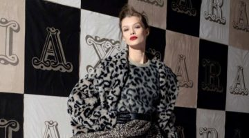 Kris Grikaite Exudes Elegance in Max Mara Fall 2018 Campaign
