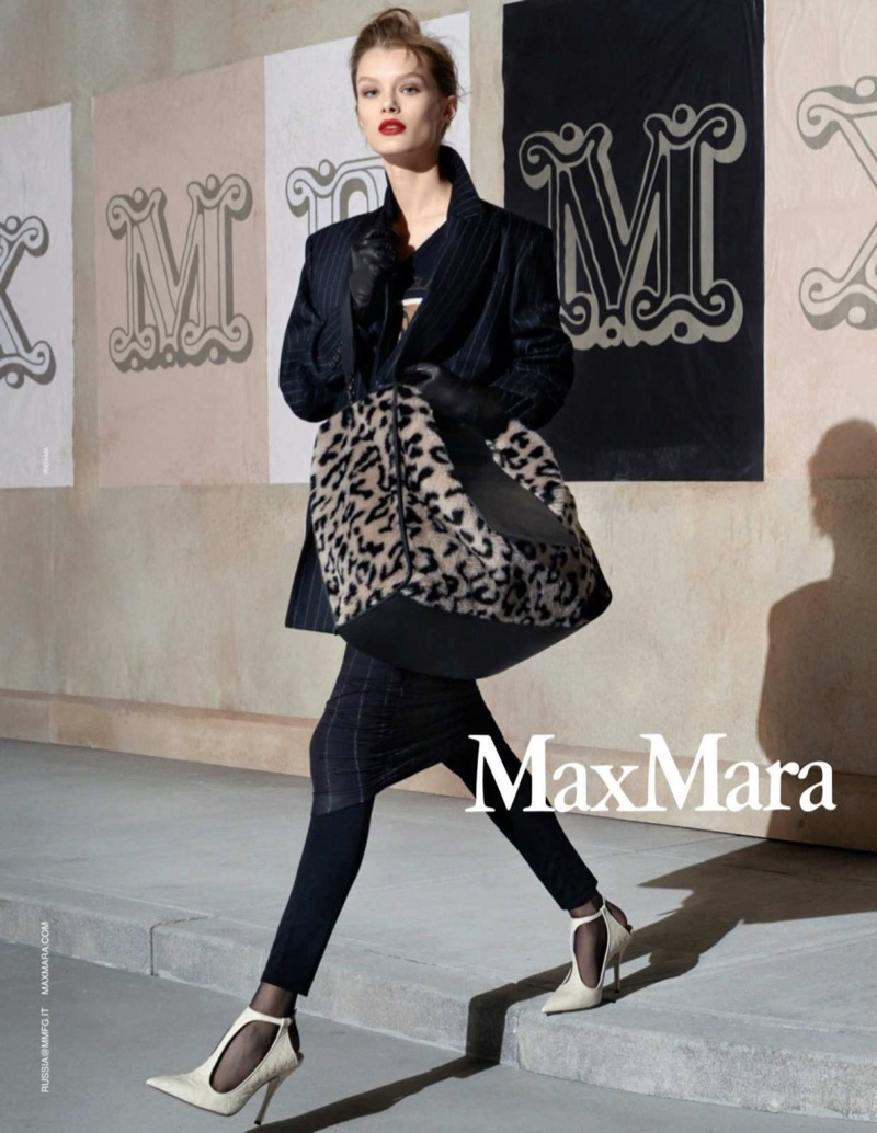 Steven Meisel photographs Max Mara fall-winter 2018 campaign
