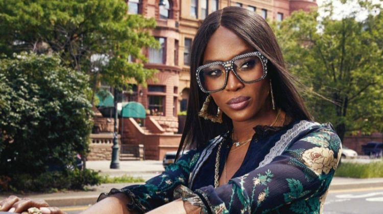 Naomi Campbell Rocks Throwback Styles for Essence Magazine