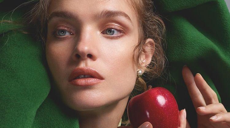 Natalia Vodianova Models Demure Styles for S Moda