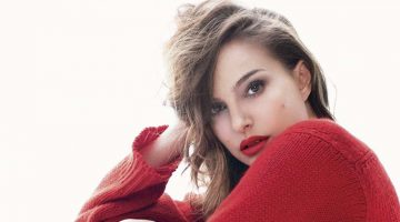 Natalie Portman Heats Up Dior Rouge Lipstick Ads