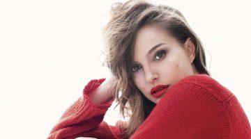 Natalie Portman Heats Up Dior Rouge Lipstick Ads