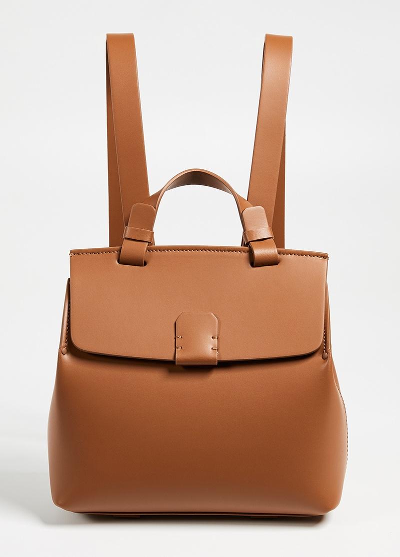 Nico Giani Hoodia Backpack in Brown $405