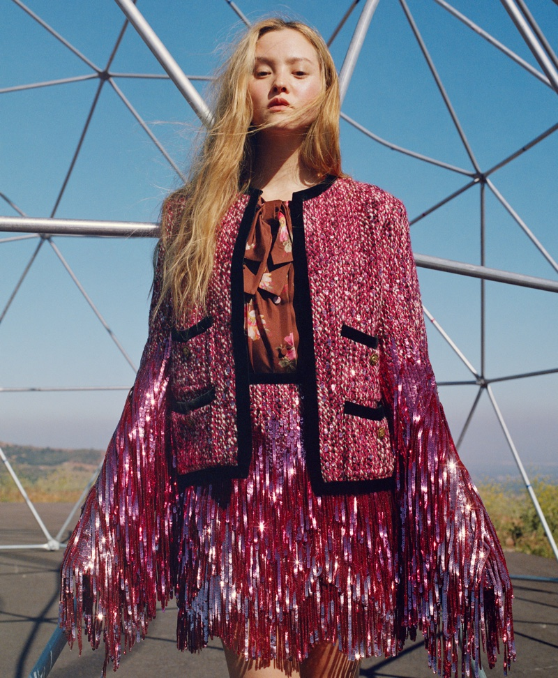 Devon Aoki Poses Outdoors for Nordstrom Fall 2018 Campaign