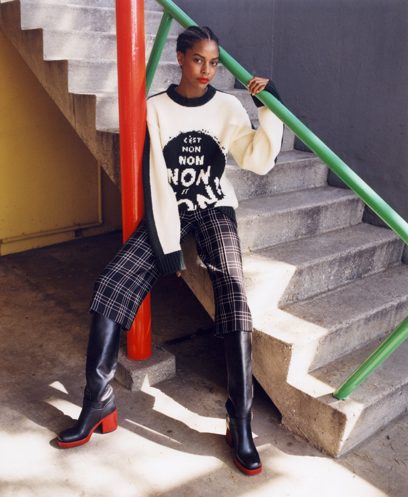 Karly Loyce fronts Nordstrom fall 2018 campaign