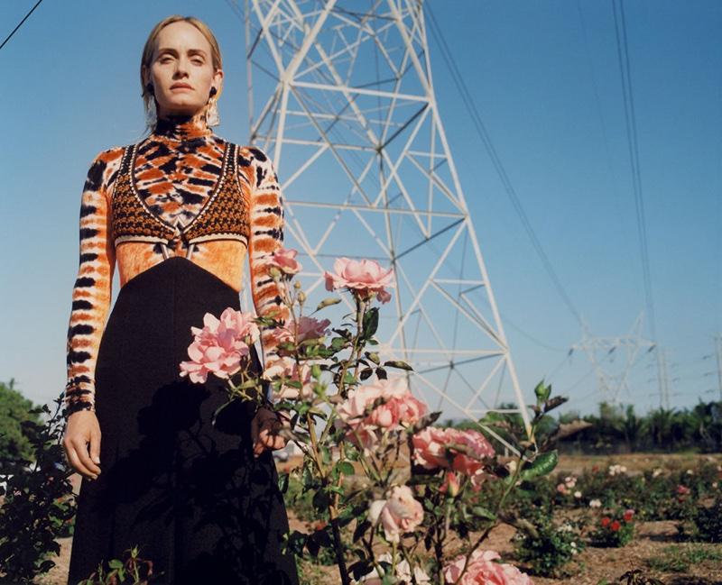 Proenza Schouler taps Amber Valletta for fall-winter 2018 campaign