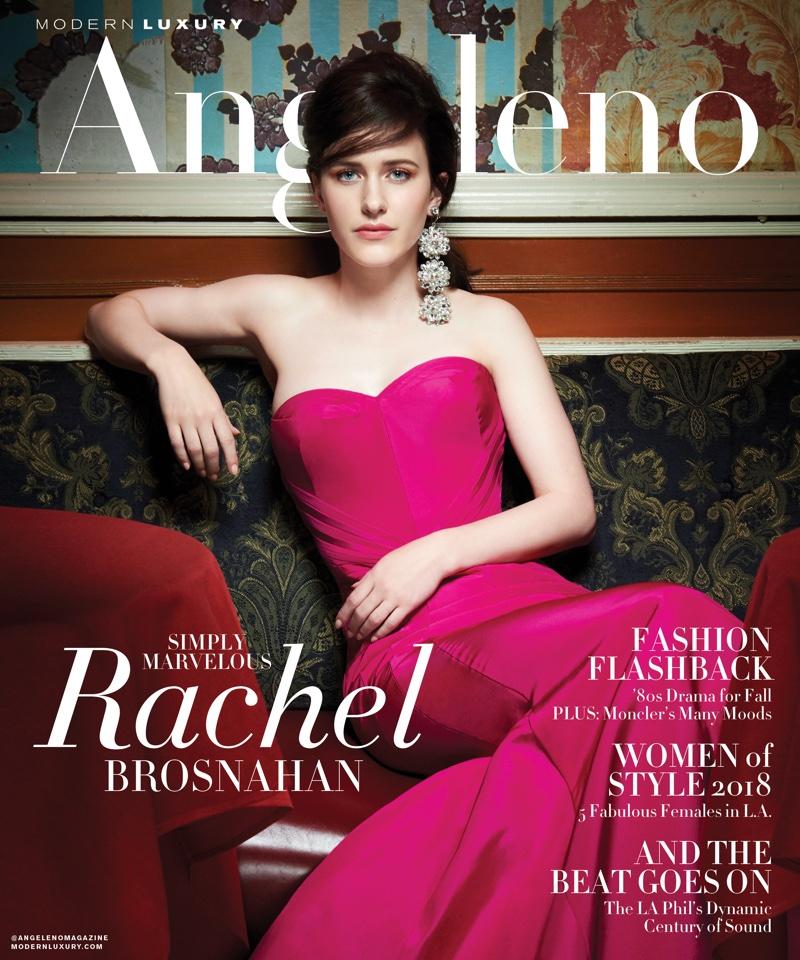 Rachel Brosnahan on Modern Luxury Angeleno September 2018 Cover