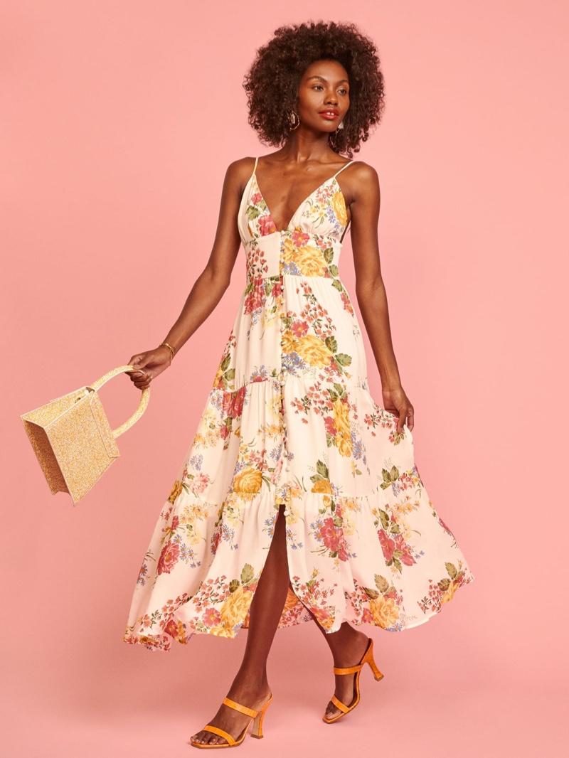 Reformation Jaden Dress in Bouquet $278