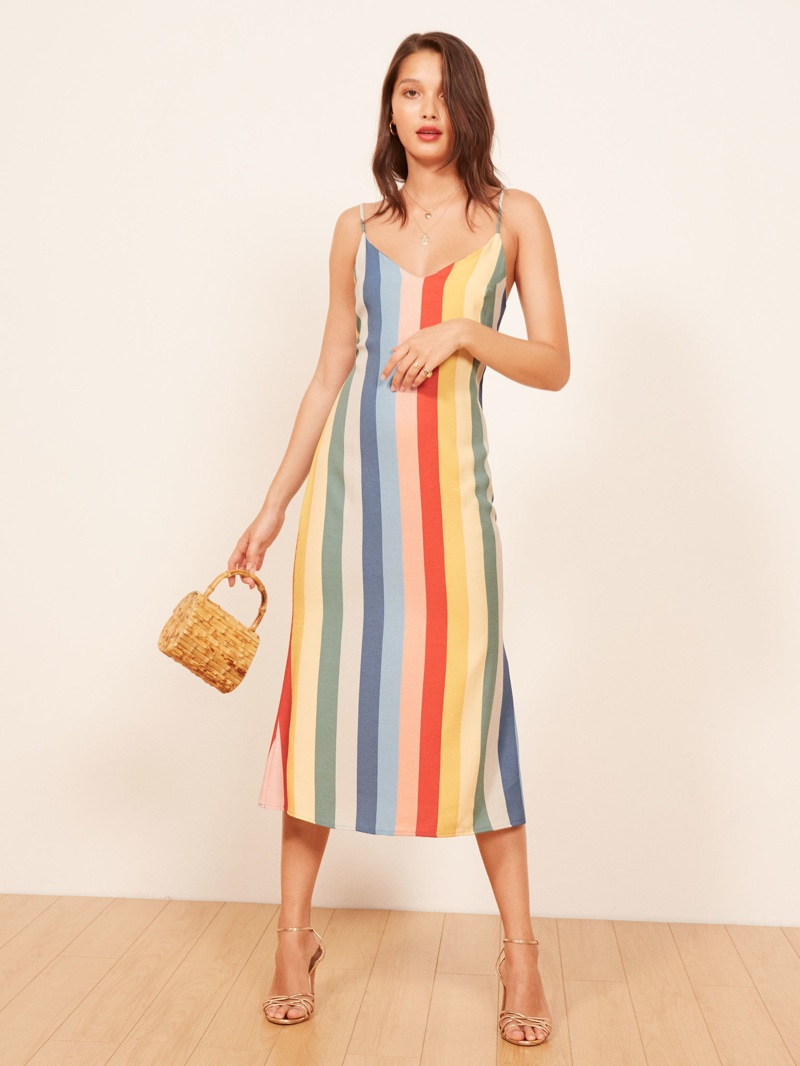 Reformation Jaxon Dress in Starburst $128