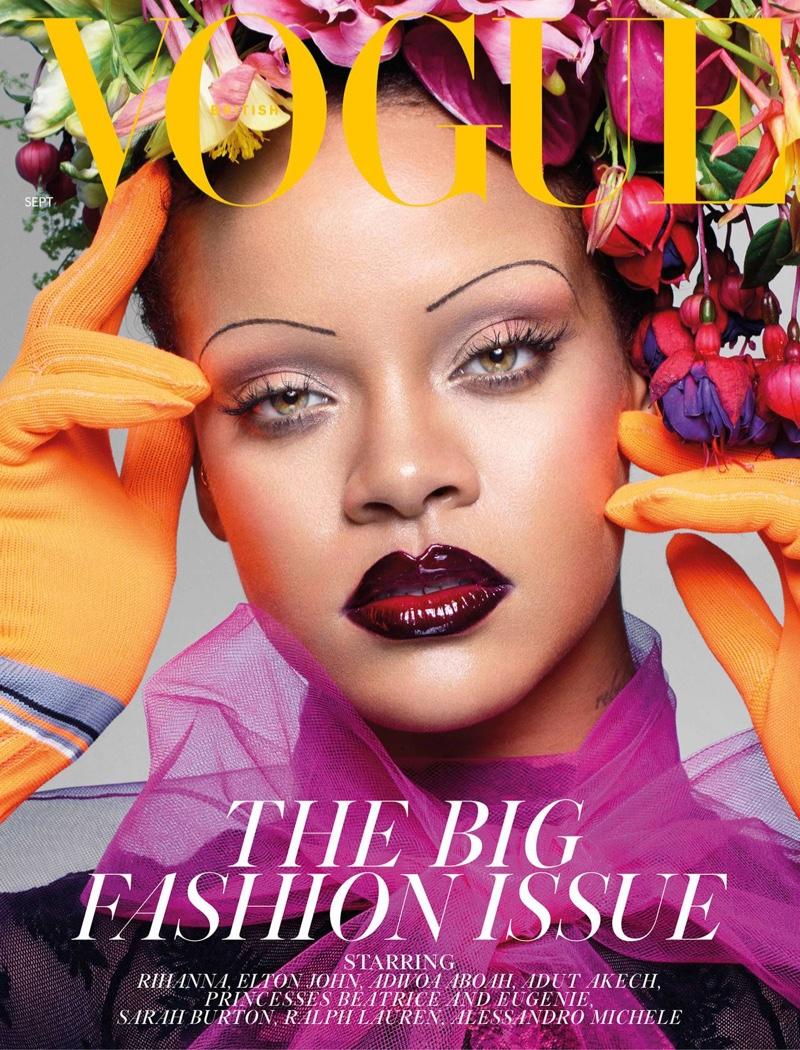 Rihanna on Vogue UK September 2018 Cover