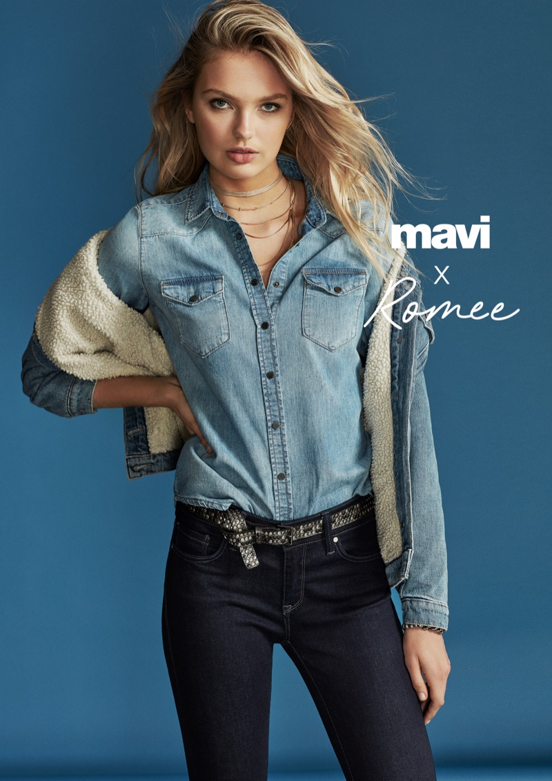 Mavi enlists Romee Strijd for its fall-winter 2018 campaign