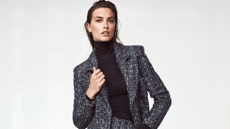 Ronja Furrer Models New Suiting Trends for ELLE Germany
